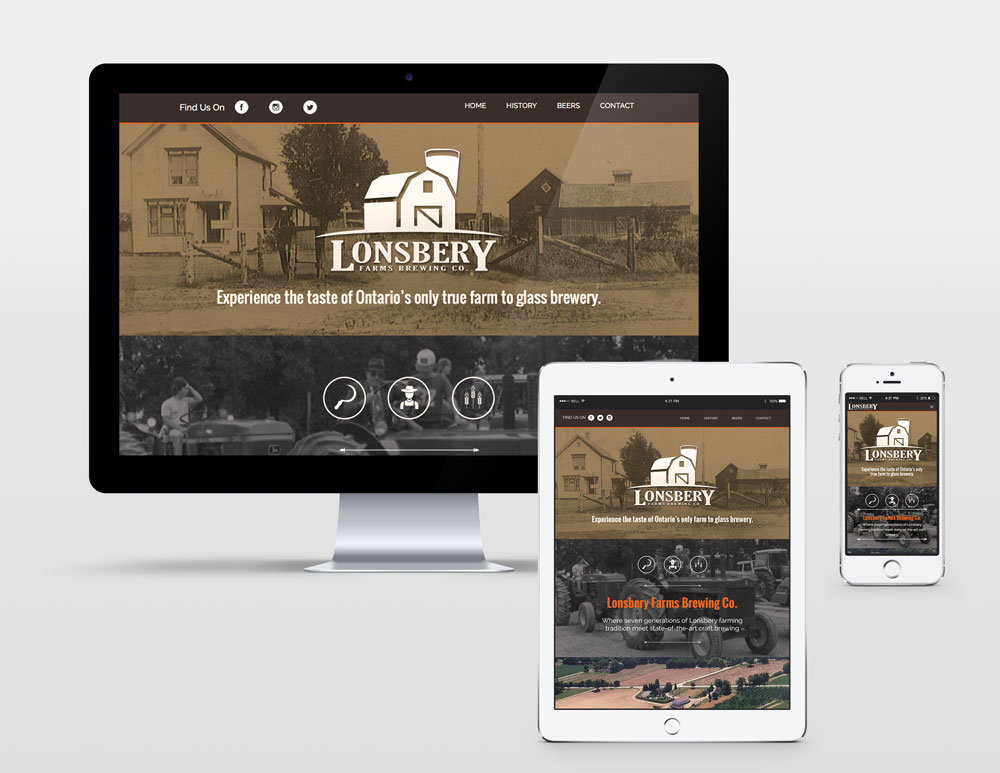 Lonsbery Farms Web